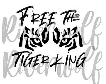 Joe Exotic Svg Here Kitty Kitty Tiger King Svg Free Joe Etsy