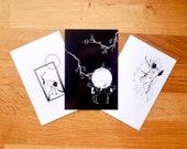 Avery Osajima Crane Postcard Pack