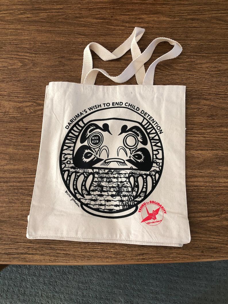 Daruma Tote Bag image 0