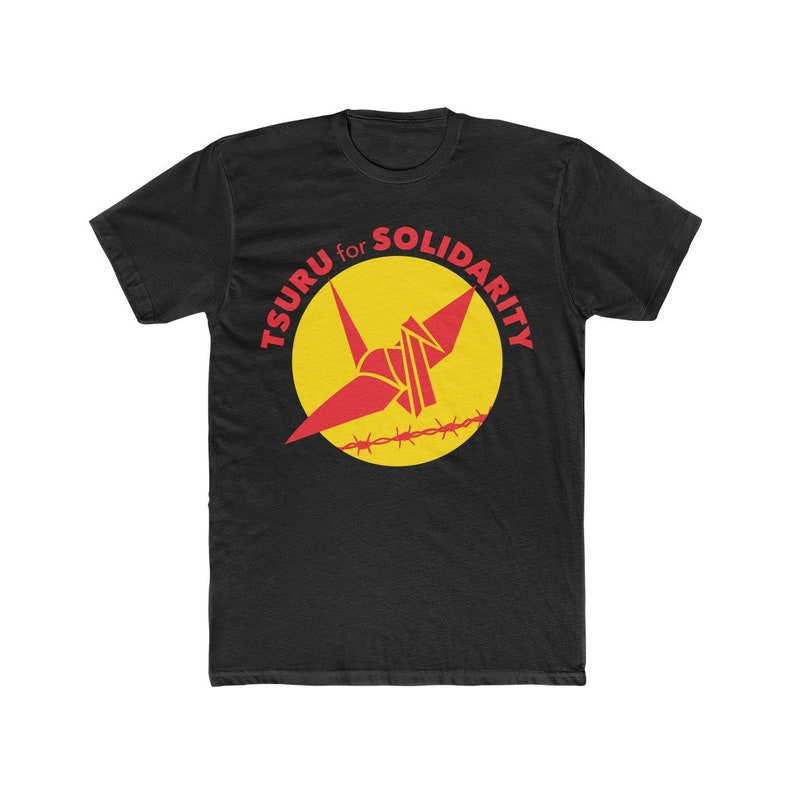 Tsuru For Solidarity T Shirt  Adult Unisex image 0