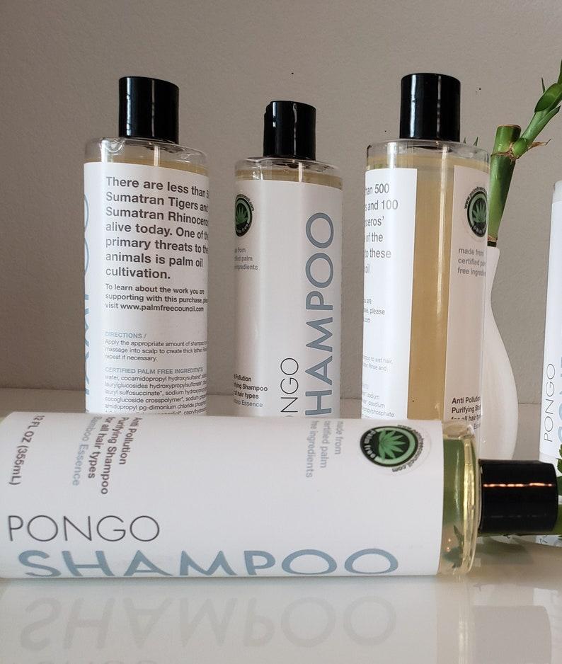 PONGO Palm Free Sulfate Free Paraben Free Shampoo & Body image 0