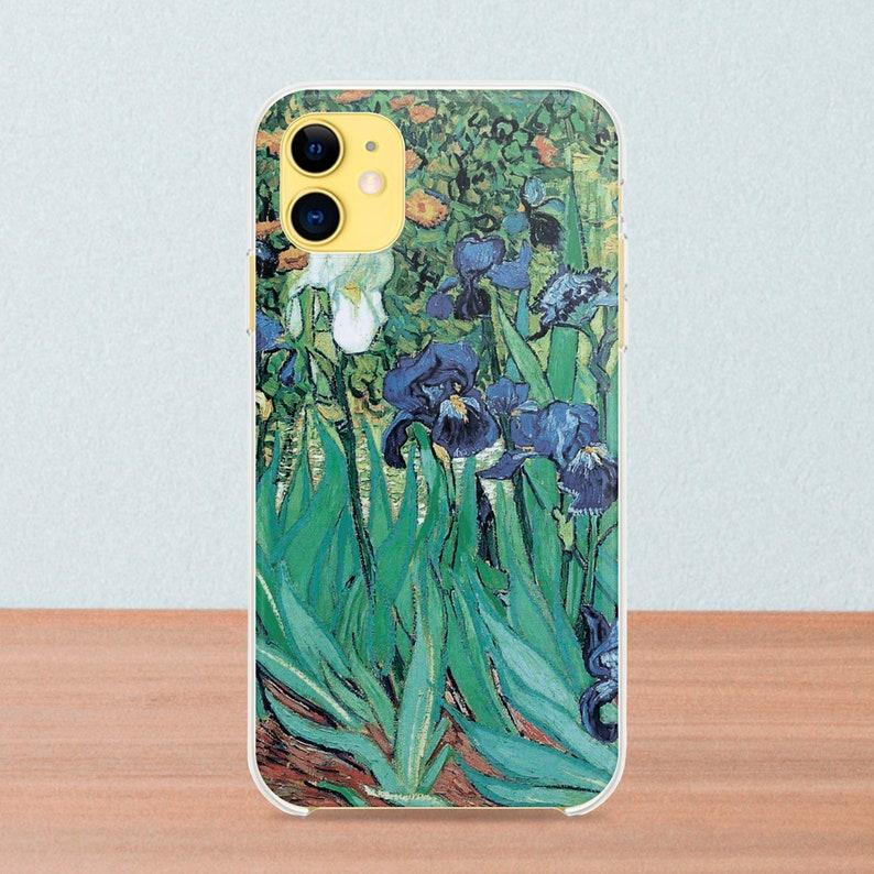 Van Gogh iPhone 11 Pro Case Silicone iPhone 11 Case iPhone Xs Case Irises iPhone 11 Pro Max iPhone Xr Cases iPhone 8 Plus Case  DA0164