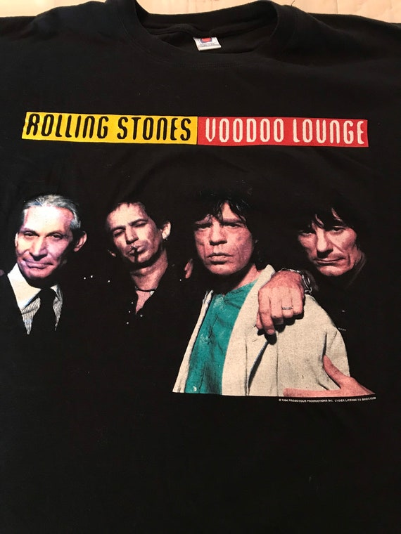 Rolling Stones T-Shirt World Tour Voodoo Lounge