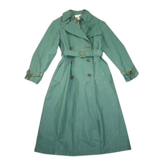 Vintage Chloé Runway Vinyl Raincoat