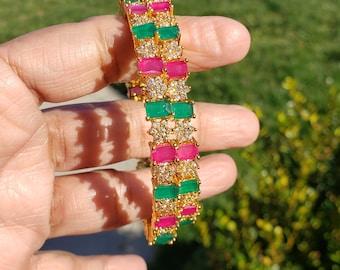 Size 2.6 | Beautiful Bangle/Kada | Multi Color