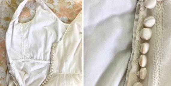 Vintage cottagecore prairie dress with jacket - image 9