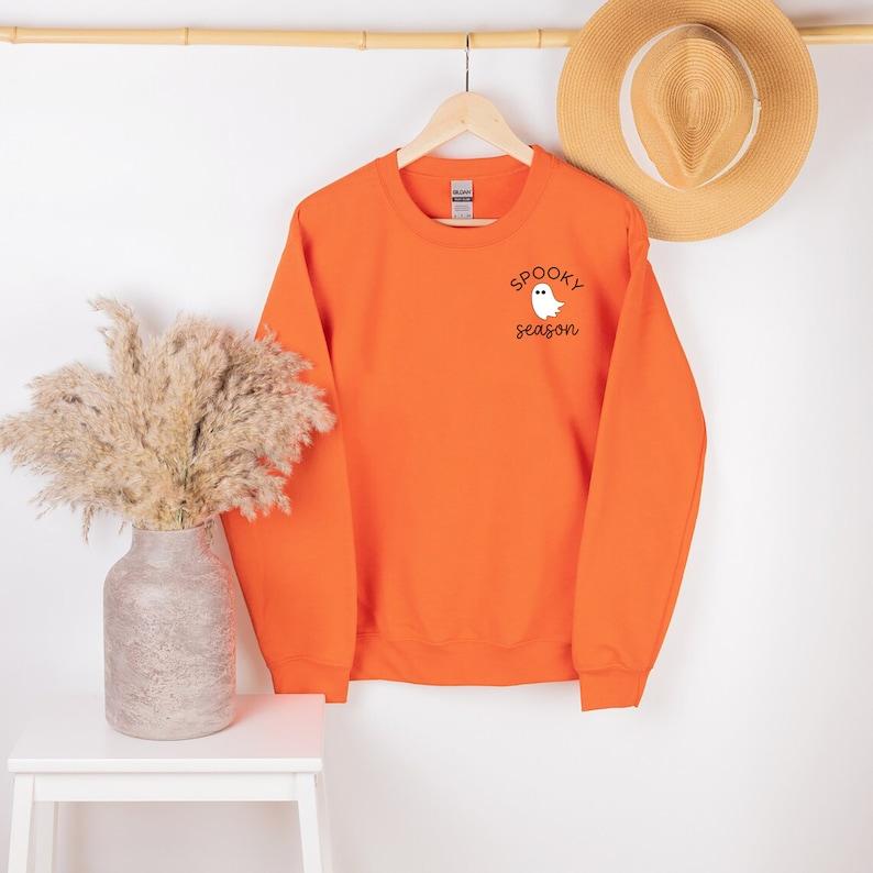 Spooky Season Sweatshirt Spooky Season Halloween Sweater image 5