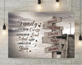 Personalized Canvas Etsy