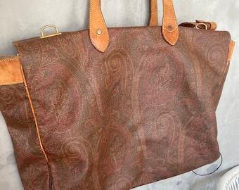 Etro Authentic Vintage Travel Bag.
