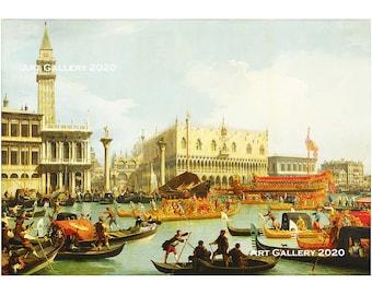Venezia Il Palazzo Ducale Vintage Italian Artistic Postcard 1920/'s