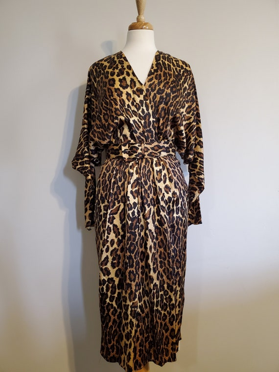 Vintage Queen Leopard Dress