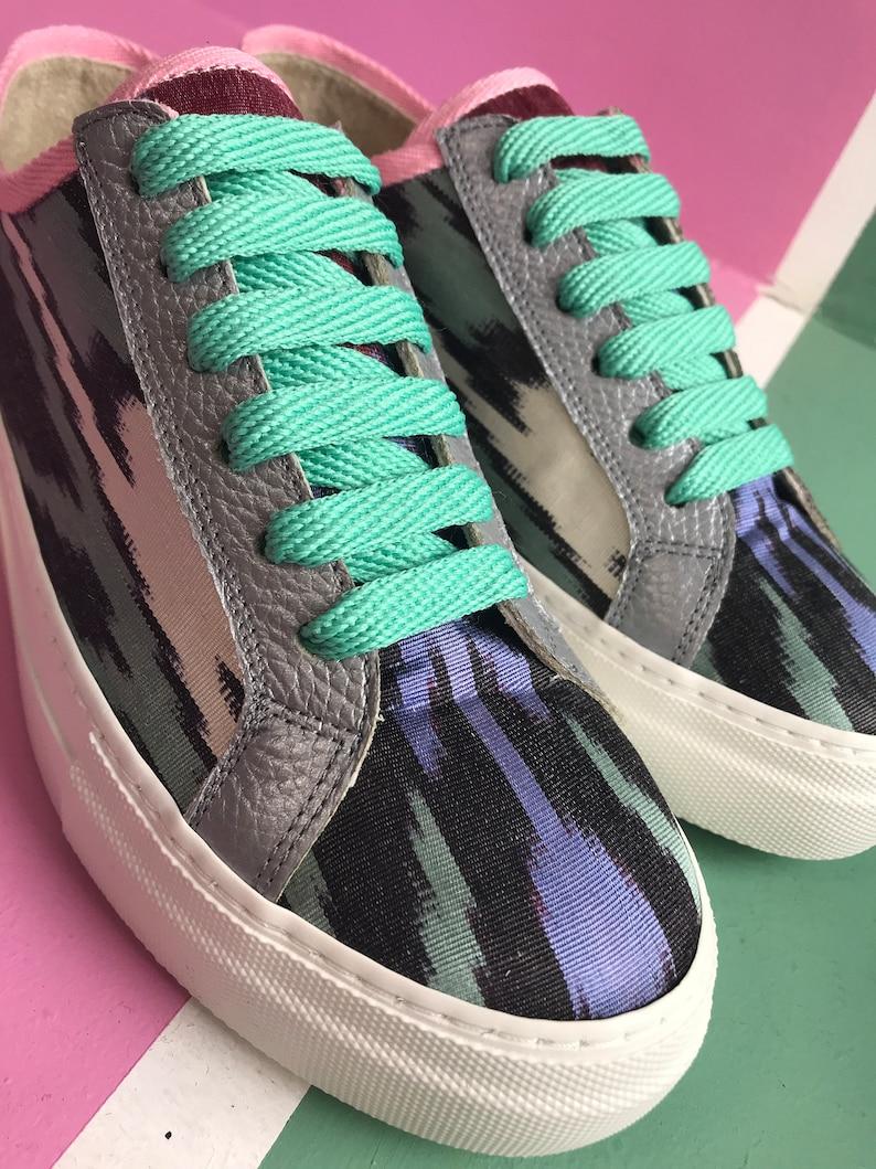 Ikat Ladies Sneakers 'Chi osa' Liquirizia Allsorts wRh4Sxma
