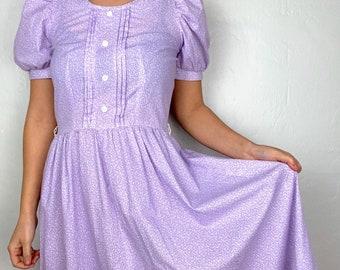 CHEZ by Tandy 80s Plus Size Floral Dress Grunge 1X