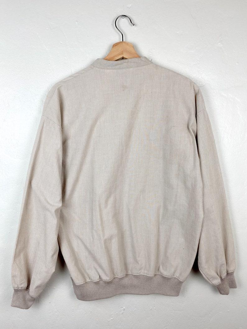 Vintage 1980s90s Alexxus Cotton Polyester Long Sleeve Top