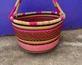 Bolga Market Basket, Large Basket