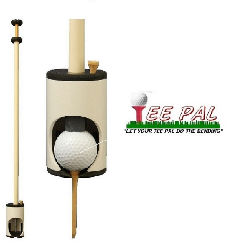 Tee Pal Golf Ball Teeing Device for Seniors With Bending ...