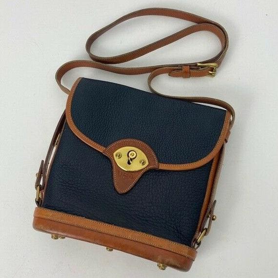 Dooney & Bourke Vintage pebbled leather bucket bag