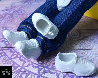 5cm Doll Accessories Sneakers Shoes for dolls,Fashion Mini Canvas Shoes NIBB