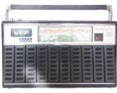 Vintage Soviet Radio, VEF Spidola 232, USSR retro radio, old radio receiver, Transistor Radio, Soviet electronics 1980s