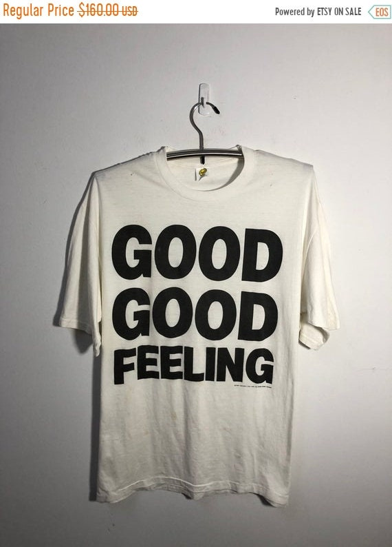 CRAZY SALE Vintage 1989 Eric Robinson And Good Good Feeling T Shirt Dance Soul Uk