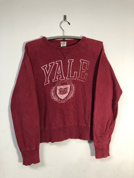 Vintage Yale University Crewneck Sweatshirt 1990s