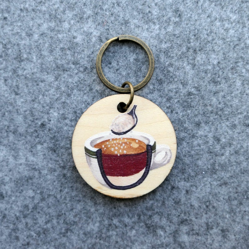 Your 3:15pm Hong Kong Teatime Favourites Keychain Single