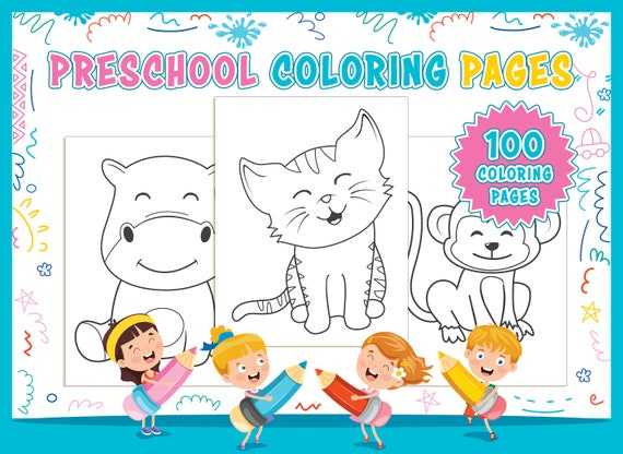 Preschool Coloring Pages  100 Printable Animal Coloring Pages
