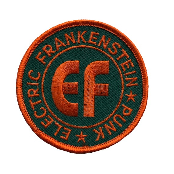 Electric Frankenstein woven patch - 2 SIZES