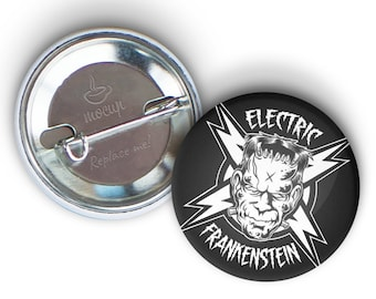 """ELECTRIC FRANKENSTEIN 1.25"""" Dirty Donny Button"""