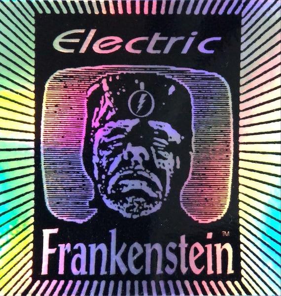 """ELECTRIC FRANKENSTEIN 3"""" Holographic Sticker"""