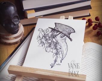 Plague Doctor Art Prints