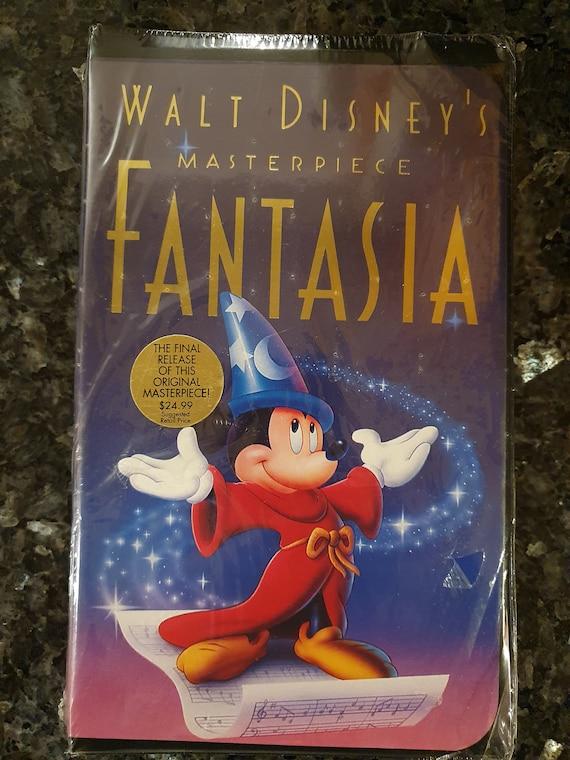 Walt Disney S Fantasia Vhs New Sealed Black Diamond Etsy