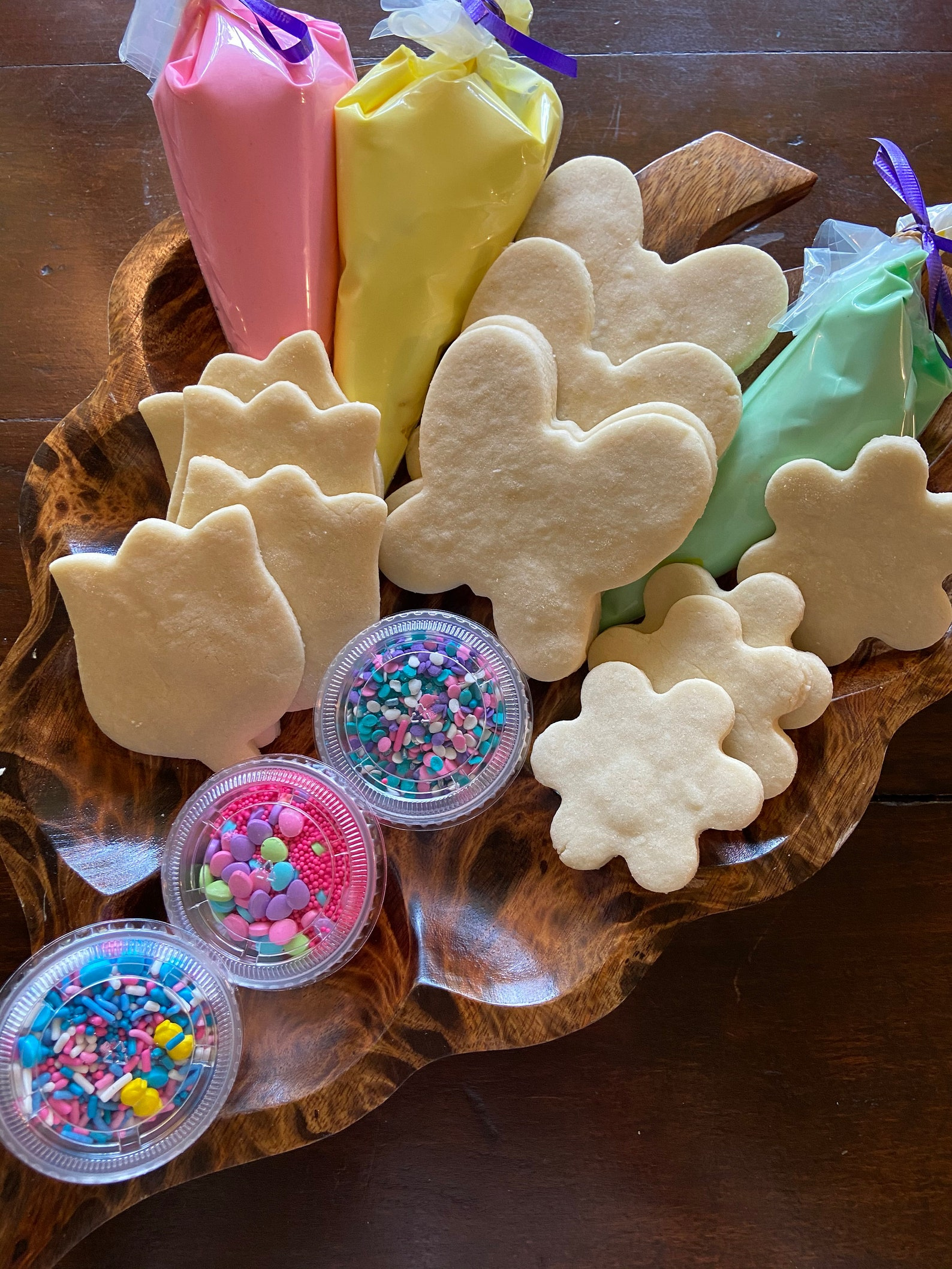 Decorate Your Own Spring Cookies