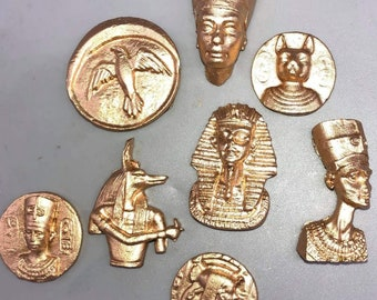 Egyptian edible decorations for cake and cupcakes,Egyptian ornaments for cake,Sugar Egyptian decorations
