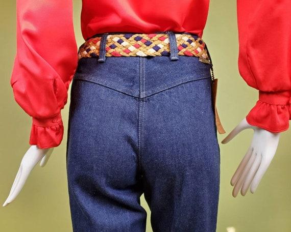 Rare Anne Klein vintage 70s/80s blue jeans. Super