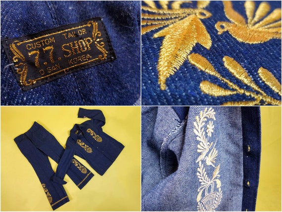 1970s denim suit set with all the bells & whistle… - image 10