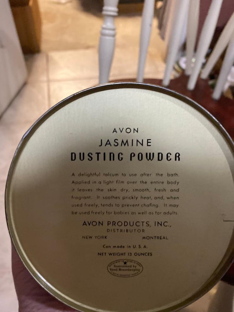 Avon dusting power tin