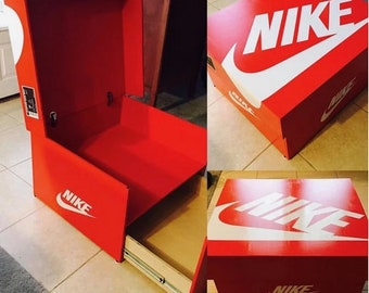 Yeezy Boost 350 v2 sneakerbox shoebox shoe storage wood box