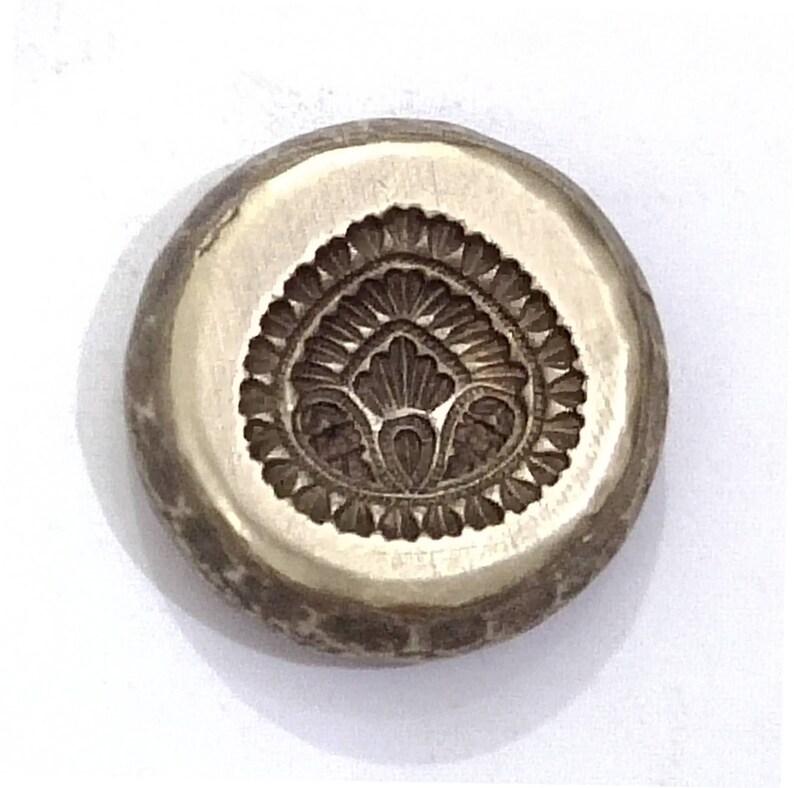 Vintage Jewelry Locket Die Mold Mould hand-engraved on Bronze DIY India SKU ML172