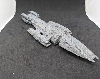 Valkyrie Battlestar Galactica High Detail Ship Model   BSG The New Series Miniature Spaceship Prop Replica Figure   Starship Figurine Scifi