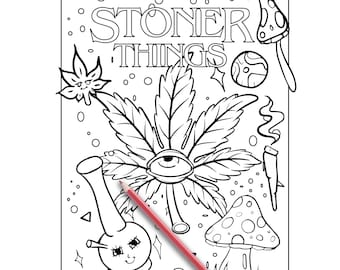 Cannabis coloring page | Free Printable Coloring Pages | 270x340