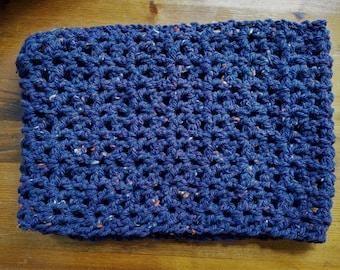 Crochet Snood - Purple