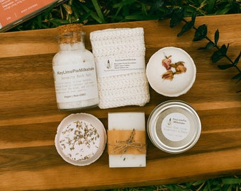 Birthday gifts for her, birthday spa box, happy birthday box for woman