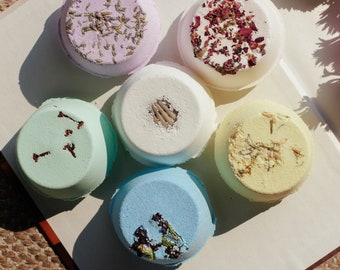 Shower steamers, shower bombs aromatherapy, shower melts, sinus relief, spa gift for women