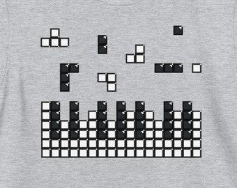 Brick Piano, Pianist, Gamer, Tile-Matching Game, Musician T-Shirt