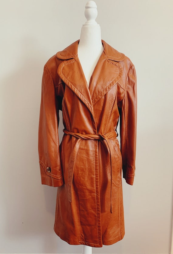 Vintage Scully Los Angeles Leather Coat