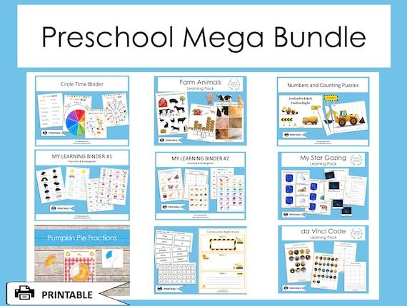 Busy Book Mega Bundle Preschool School Learning Binder