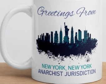 Nyc coffee cup   Etsy