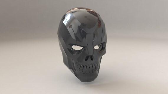 Black Mask From Birds Of Prey 3d Print Model Etsy