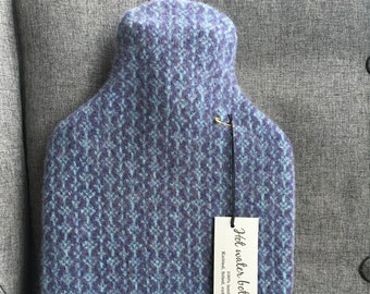 Knitted Lambswool Hot Water Bottle